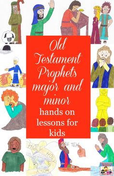 Old Testament Prophets for kids. Awesome site. Perfect for planning kid's Bible events.