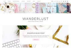 Wanderlust Wordpress Theme by TinselPop on @creativemarket (promoted)