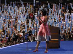 Memorable First Lady speech confirms Michelle is still the most popular Obama in the White House