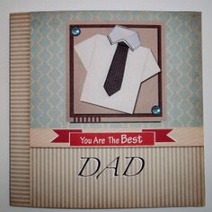 You are the best dad Fathers day card. by PeteSdesign on Etsy, £2.00