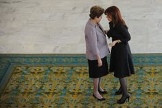 Dilma and Cristina