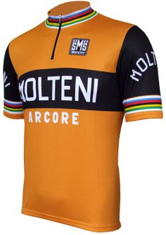 Molteni/Arcore Retro Jersey - Short Sleeve