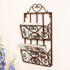 Featuring a wide range of French home accessories Dibor has country style accessories for any room perfect for adding a touch of rustic French home decor. Metal Magazine, Magazine Rack, Modern Country, Country Style, Rustic French, French Country, Vegetable Rack, French Home Decor, Country Kitchen