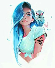 Girl art style is