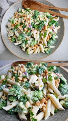 Healthy Salad Recipes, Healthy Snacks, Vegetarian Recipes, Cooking Recipes, Real Food Recipes, Waldorf Salat, I Love Food, Good Food, Summer Recipes