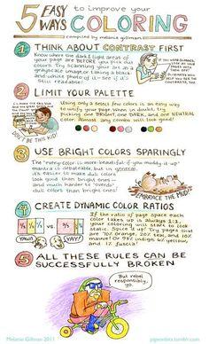 , A handout for a coloring workshop.