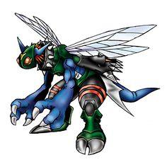 "Dinobeemon - ""Terrible Bee"", Ultimate level Mutant digimon, DNA Digivolution of Stingmon and ExVeemon"