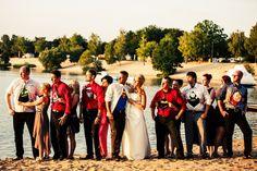 Nähfrosch zu Gast auf einer tollen Hochzeit