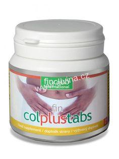 Fin Colplustabs, rostlinné extrakty a inulin Gin, Coconut Oil, Food, Meals, Yemek, Jin, Eten