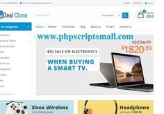 http://www.phpscriptsmall.com/product/flipkart-snapdeal-clone/ Phpscriptsmall like Amazon clone script, flipkart clone script, snapdeal clone script is the best solution to start your own online shopping website.  Amazon clone script is exclusive build as a marketplace to sell and buy the product.  Admin and seller will get a real time dashboard to monitor all the stages of sales in dashboard.  Contact us +91 9841300660