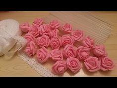 Мега супер легкий способ  Розы для свадебных букетов✔ ℳAℛίℕℰ DIY✔ - YouTube