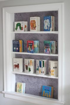 """We were so excited to partner with 'A Mommy in the City' blogger, Lauren, for the renovation of her son's nursery! The grey tones are perfect for the space and we adore the fun woodland accents - including Chasing Paper's """"Wild"""" print! Check out the entire makeover over at A Mommy in the City! xo, A and E"""