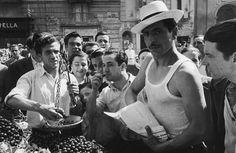 Vendere ciliegie a Napoli