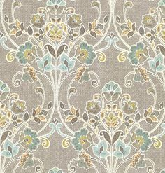 £25/roll Delhi Floral Jade wallpaper by Albany