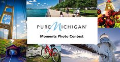 """Have you captured a """"Pure Michigan moment"""" that you want to share with the world? Enter the 2015 Pure Michigan Moments Photo Contest for a chance to have your photo featured in a future issue of a Pure Michigan Travel Guide and more!"""