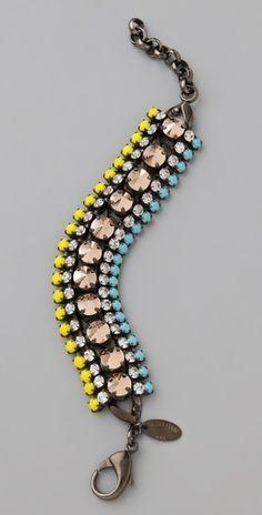 Bracelets with Personality Scarf Jewelry, Jewelry Box, Jewelery, Jewelry Accessories, Iosselliani, Crystal Bracelets, Beaded Necklace, Bling, Chain