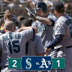 The #Mariners take the series from the #Athletics as Seager and Hart go back-to-back. 9/3/14