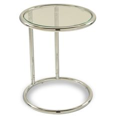 Round Table w/ Glass Top by Ave Six - Overstock™ Shopping - Great Deals on Office Star Products Coffee, Sofa & End Tables
