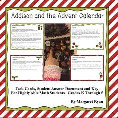 Christmas Math Ideas on Pinterest | Math Centers, Addition And ...