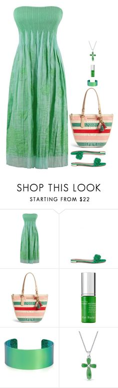 """""""Untitled #7741"""" by miki006 ❤ liked on Polyvore featuring Aquazzura, Brahmin, Kat Burki, Monday Edition and Bling Jewelry"""