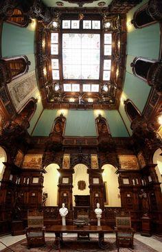 Peles Castle interior, Romania