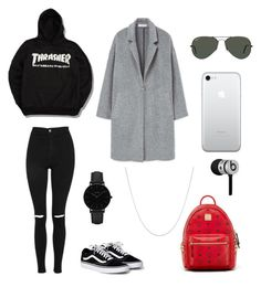 """""""polyvore"""" by jesy-smith on Polyvore featuring mode, Topshop, MANGO, MCM, Ray-Ban, CLUSE, Fremada et Beats by Dr. Dre"""