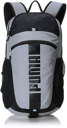 e96d57d5708a Puma Polyester 15 Ltrs Puma Black and Quiet Shade Laptop Bag (7440101)