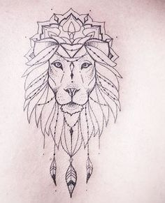 Girl Neck Tattoos, Back Of Neck Tattoo, Love Tattoos, Tattoo Pied, Geometric Lion Tattoo, Tattoo Fineline, Piercing Tattoo, Piercings, Desenho Tattoo