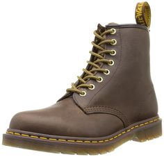 Dr. Martens 1460, Boots mixte adulte - Marron (Aztec Crazy Horse), 39 EU (6 UK)