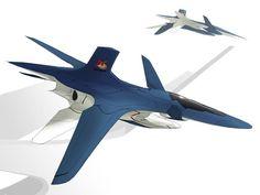 Un des avions fictifs de Ace Combat 3 : Electrosphere