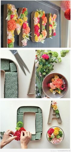 Manualidades o DIY Wall Art para decorar pared de casa 2