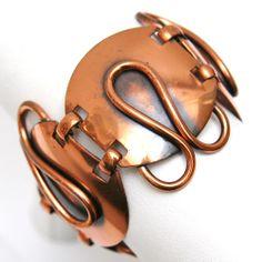 Copper Link Bracelet by Carol Tanenbaum.  Insane.