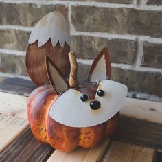 Pumpkin Parts - Fox by The Round Top Collection Make a pumpkin complete with our Fox Pumpkin Face Set. Use a fresh pumpkin or a styrofoam pumpkin to create an amazing and easy fox pumpkin. Item: Dimensions: x x Pumpkin not included. Cute Halloween Decorations, Halloween Paper Crafts, Halloween Party, Halloween Ideas, Spiderman Pumpkin, Pumpkin Crafts, Pumpkin Ideas, Parts Of A Pumpkin, Round Top Collection