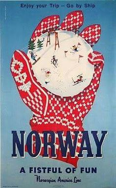 Norge airline ad