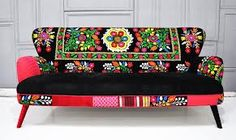 crazy fabric sofa - Google Search