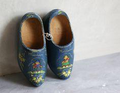 noperfectdayforbananafish:    (via Dutch Wooden Shoes Souvenir of Marken Holland by susantique)