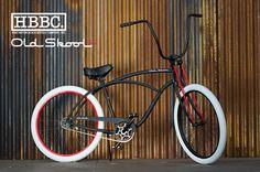 Huntington Beach Bicycle Company Old Skool Beach Cruiser Bicycle at Big Time Cruisers