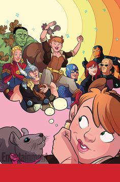 First look: Marvel's 'Unbeatable Squirrel Girl' cover | PopWatch | EW.com