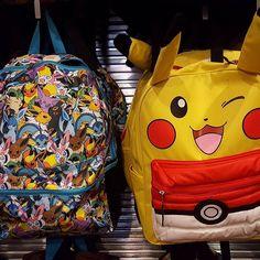 Which #pokemon backpack do u like better? Left or right? #GAAM