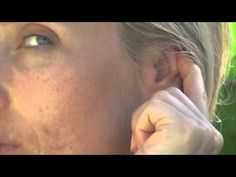 """The famous reflexologist Helen Chin Lui maintains that """"Each ear contains a complete reflex map of the body, rich with nerve endings and multiple connectors to the central nervous system. Ear Massage, Reflexology Massage, Lymph Massage, Coaching, Ear Parts, Head And Heart, Body Organs, Natural Health Remedies, Cancer Treatment"""