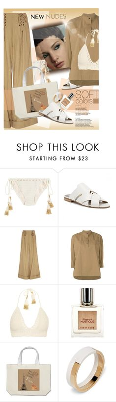 """Soft shades"" by laste-co ❤ liked on Polyvore featuring SHE MADE ME, Hudson, Ulla Johnson, Lareida, Eight & Bob and Marni"