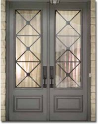 New Entrance Door Decoration Front Entry House 58 Ideas The Doors, Windows And Doors, Double Front Doors, Front French Doors, Exterior French Doors, Double Doors Interior, Glass Front Door, Double Patio Doors, Black French Doors