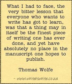 Quotable - Thomas Wolfe - Writers Write Creative Blog