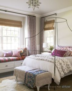 Tween bedroom designed by Amber Lewis