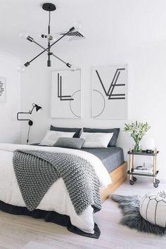 Word Art,Geometric Wall Art, Love Art Poster, Word Artwork, Love Sign, Typography Poster, Typography, Set of Two Wall Art, Black and White