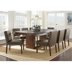 Coming Home Nine Piece Dining Set With Homecoming Dining Table And  Contrasting Ladderback Chairs By Trisha Yearwood Home Collection By  Klaussner | For The ...