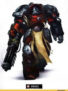 warhammer 40000,фэндомы,Flesh Tearers,Blood Angels,Space Marine,Adeptus Astartes,Imperium