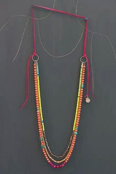 Lovely beaded necklace. Perfect for summertime