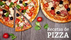 25 recetas de pizza, masa casera y pizzas dulces