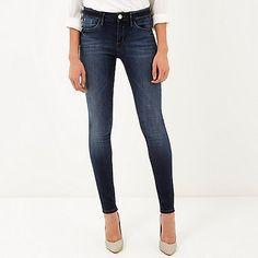 Dark rinse Amelie superskinny reform jeans - skinny jeans - jeans - women